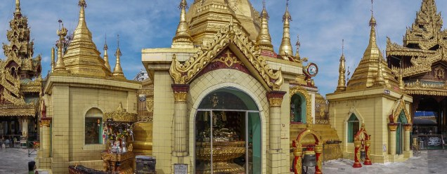 3. a slice of the Sule Pagoda